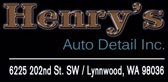 henry's auto detail logo