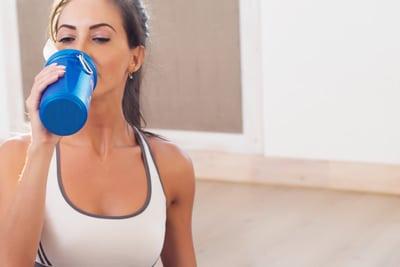 protein shake stain